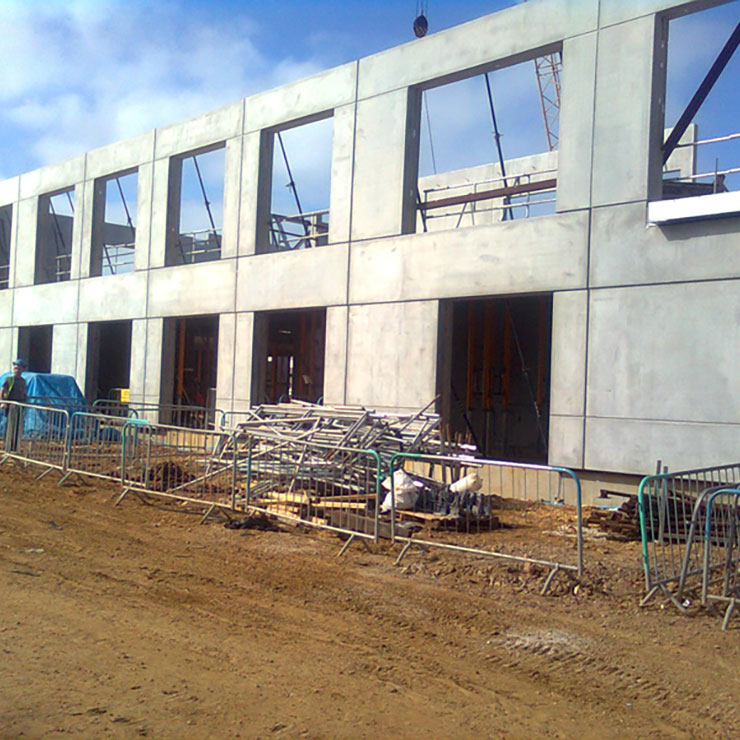 Cowes Pathfinder Secondary School - construction - RCDS 3