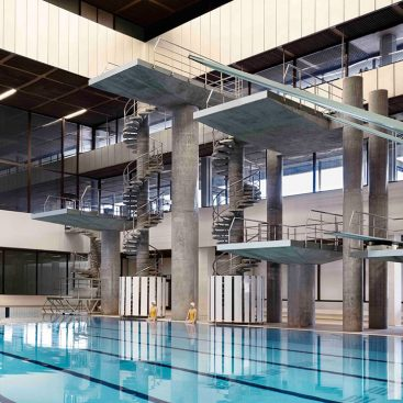 Royal Commonwealth pool - Dive Towers - Edinburgh - RCDS