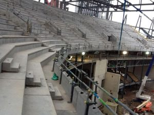 The Leeds First Direct Arena - RCDS - stadium-construction 2