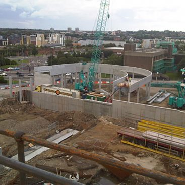 Trinity Square Shopping Centre development - RCDS