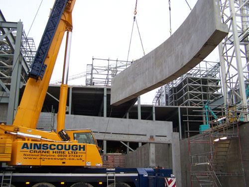 Trinity Square Shopping Centre development - RCDS - construction 7