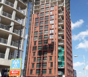 orchard wharf project - RCDS - construction 1