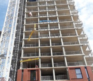 orchard wharf project - RCDS - construction 2